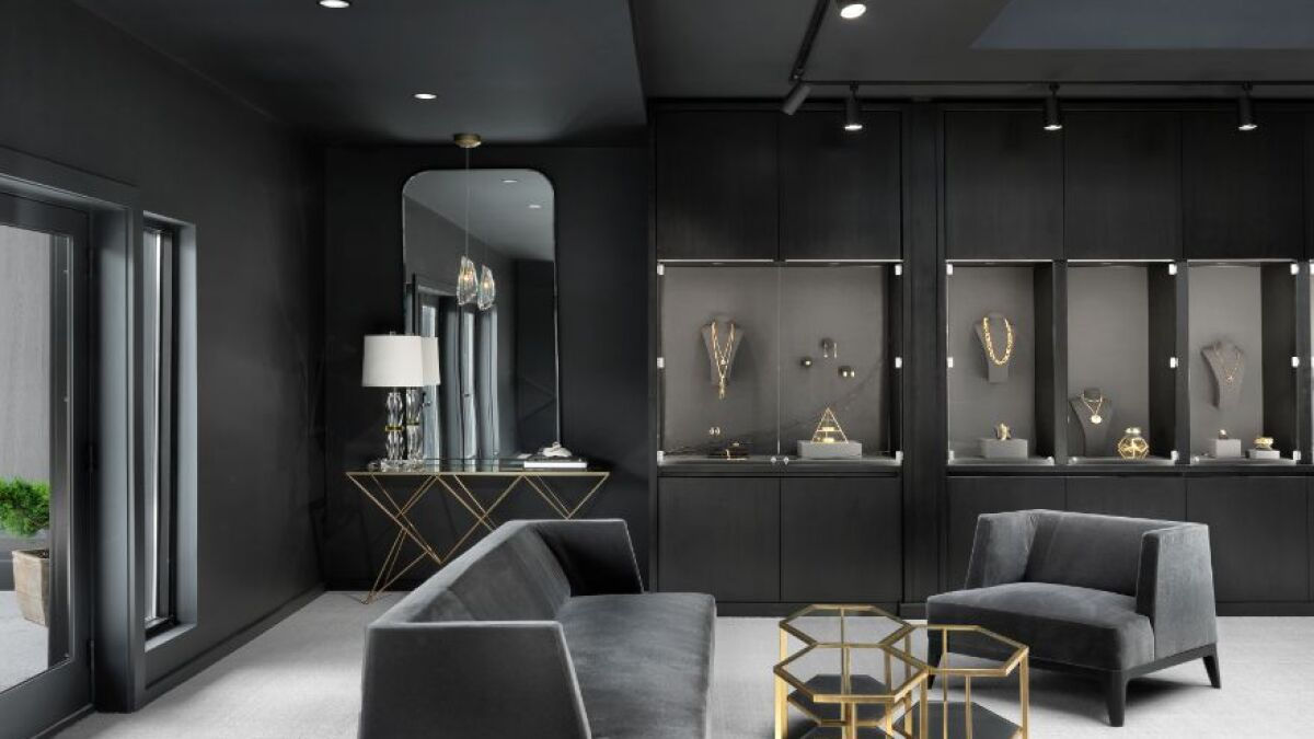 This Jewelry Store Is The Epitome Of Modern Gothic Luxury Loopnet Com