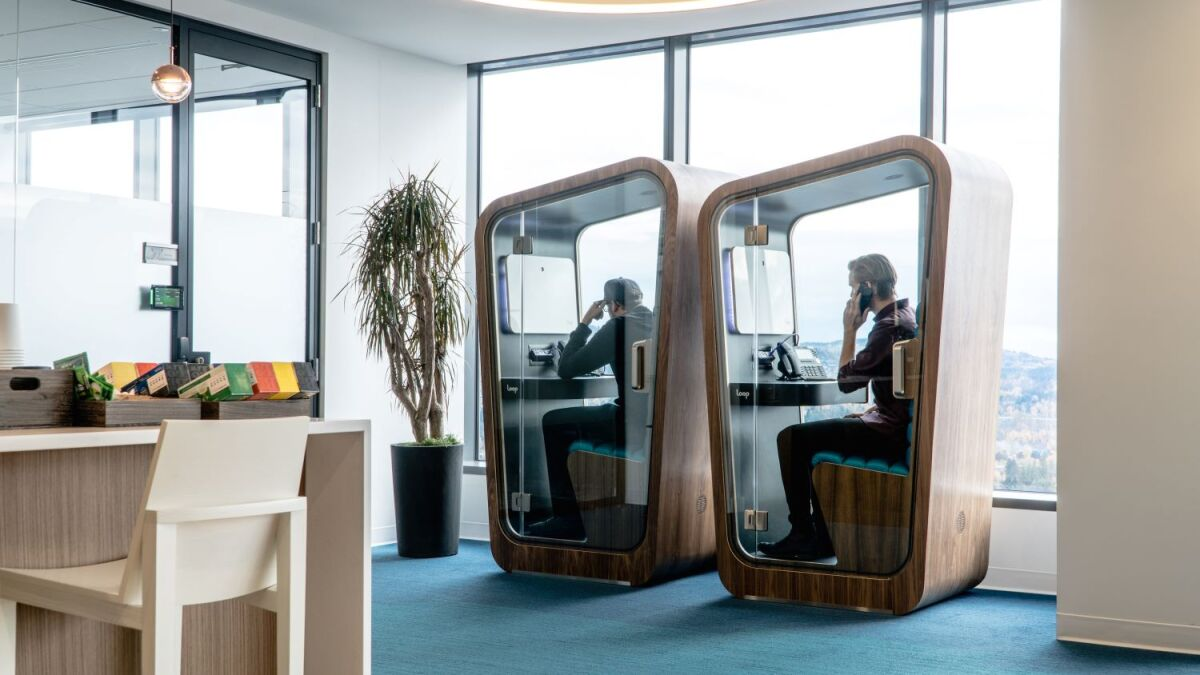 The Phone Booth Is Making a Comeback – Inside Your Office | LoopNet.com