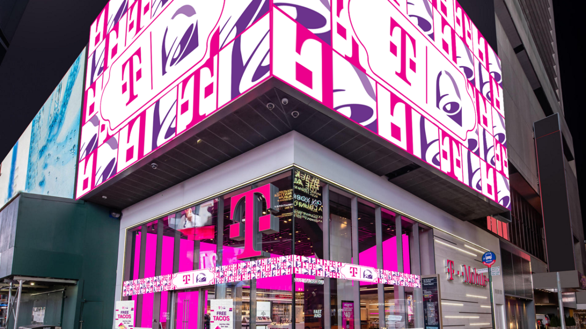 T-Mobile Serves Up Taco Bell in Latest Lifestyle Pop-Up