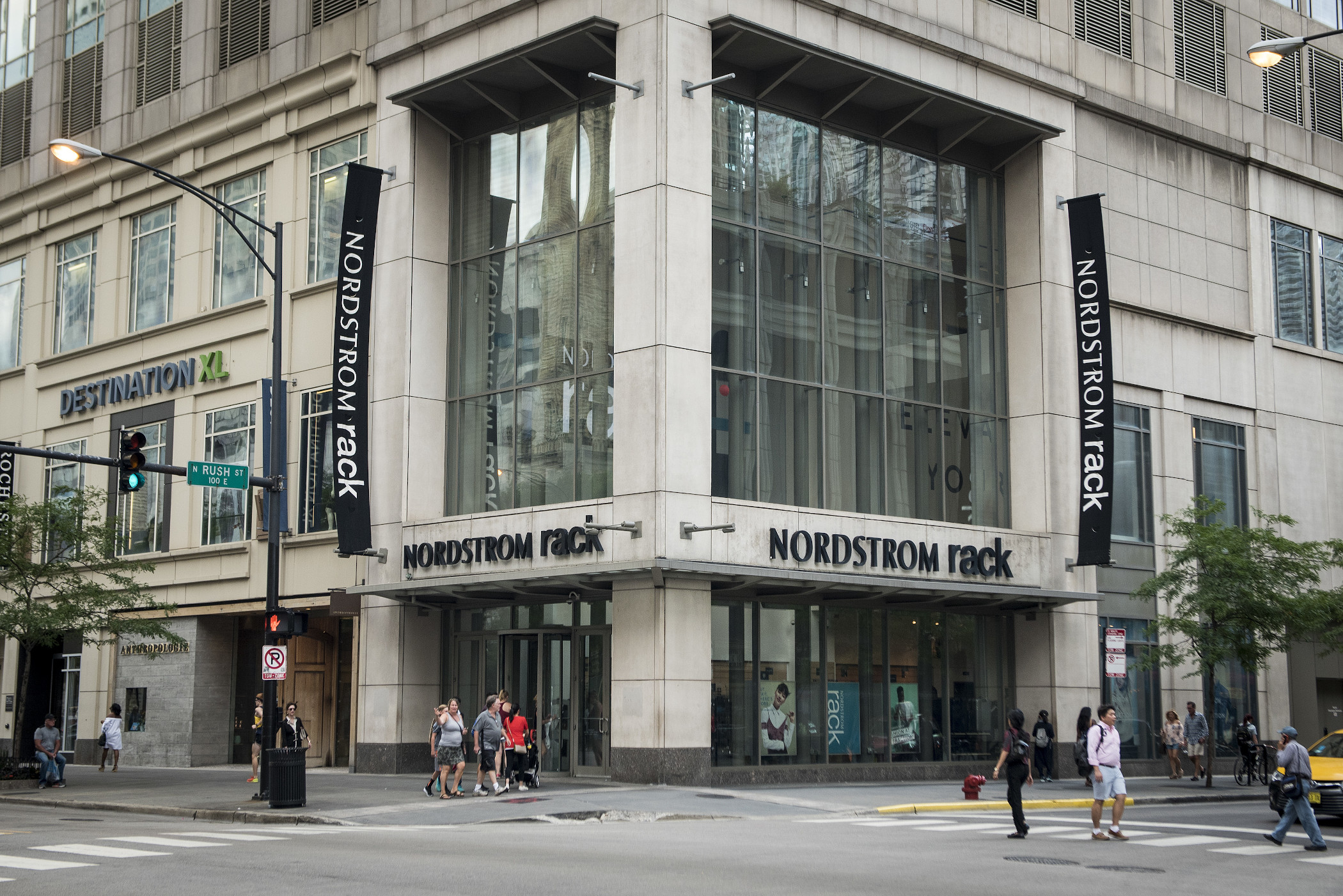 Nordstrom stores will stay empty for two weeks as part of the retailer's efforts to help contain the coronavirus outbreak. (Getty Images)