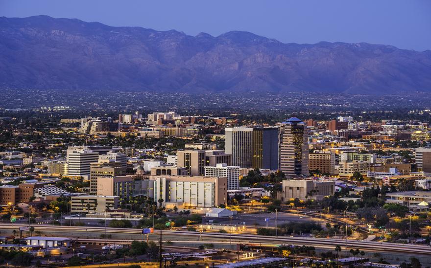 Tuscon, Arizona (Getty Images).