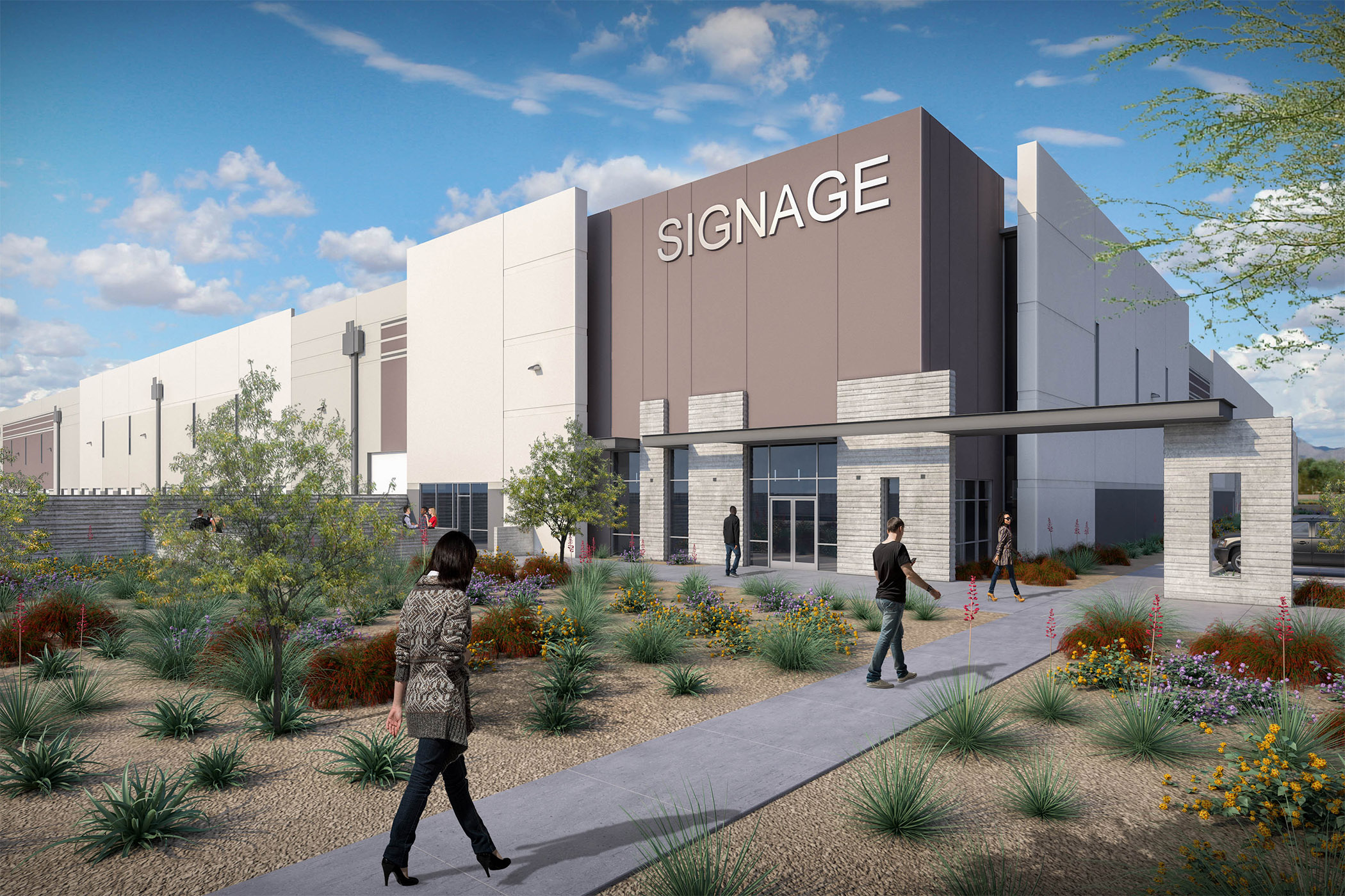 Investment firm Westcore's projects in development include a distribution center in Goodyear, Arizona. (Westcore)